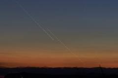 Chapelet réalisé en juin 2013 lors d'une conjonction Vénus, Jupiter et Mercure